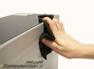 تمیز کردن رایانه