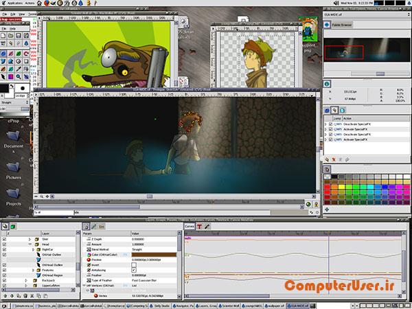 ساخت انیمیشن دو بعدی با Synfig Studio