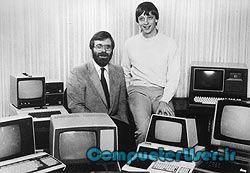 پول آلن و بیگ گیتس در سال 1981
