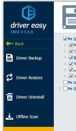 ابزارهای Tools در نرم افزار Driver Easy