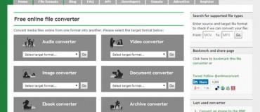 تبدیل آنلاین فایل با online-convert.com