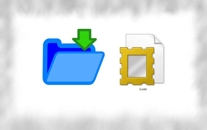 ذخیره صفحات وب با فرمت MHT در مرورگر Chrome