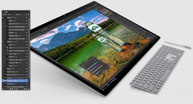 Affinity Photo نرم افزار های جایگزین فتوشاپ