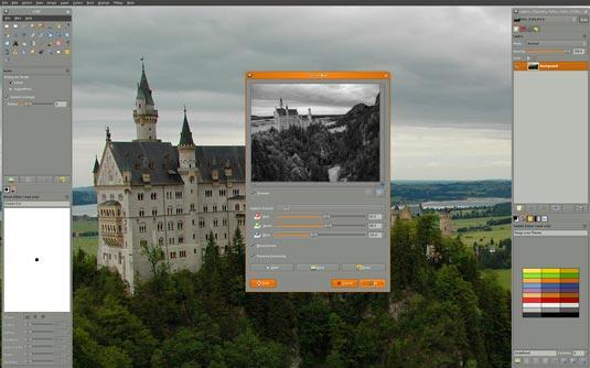 GIMP نرم افزار های جایگزین فتوشاپ