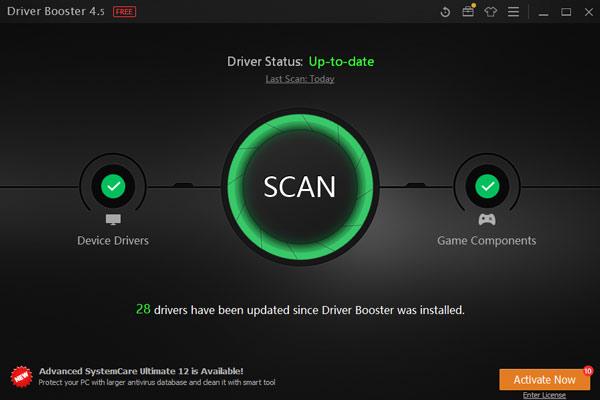 پویش درایورهای رایانه با Driver Booster